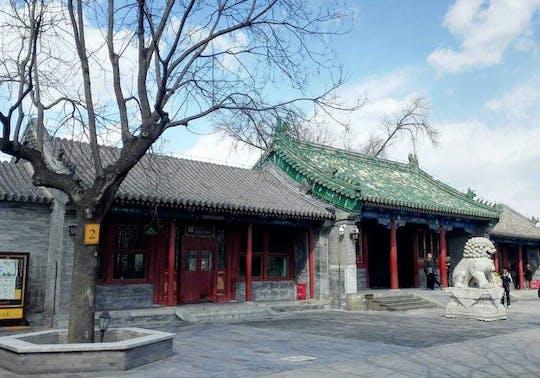 Tour de um dia inteiro com impressão de Pequim em Tiananmen, Cidade Proibida, Parque Jingshan e Hutongs