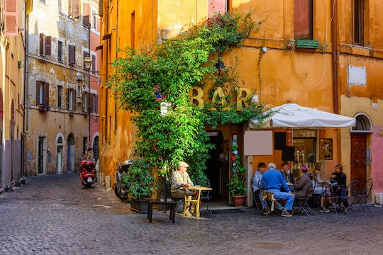 Visite gastronomique typique de Rome avec un guide local