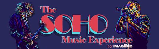 The London Soho Music Experience samen met The Hard Rock Cafe