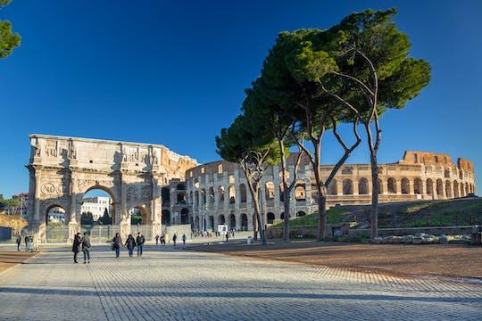 Tour do piso da Colosseum Arena e do portão do gladiador