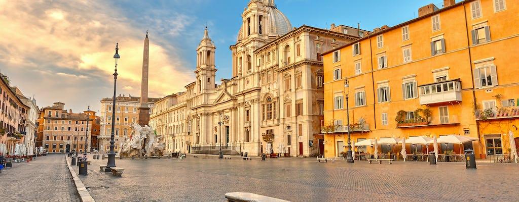 Recorrido por el corazón de Roma y el piso VIP Colosseum Arena