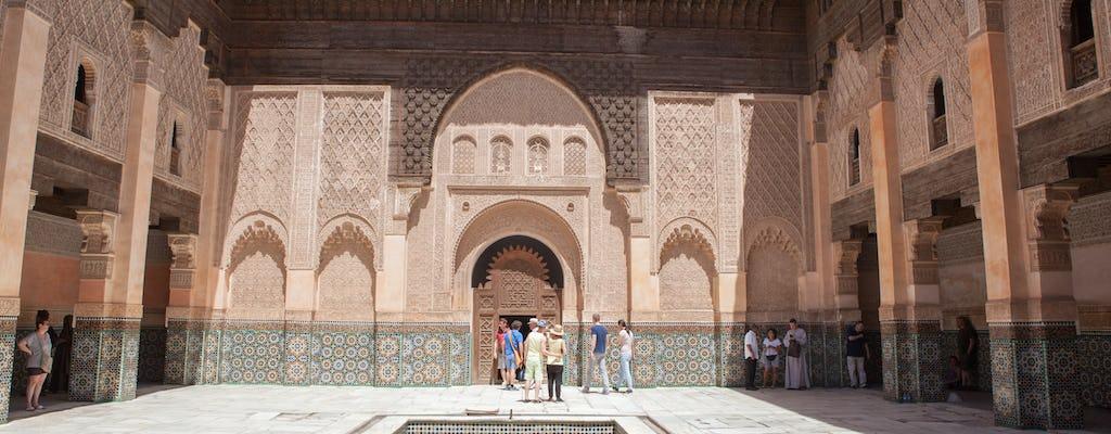 Visite à pied de la médina et de la méderassa Ben Youssef
