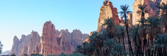 Wadi Al Disah valley full-day tour from Tabuk