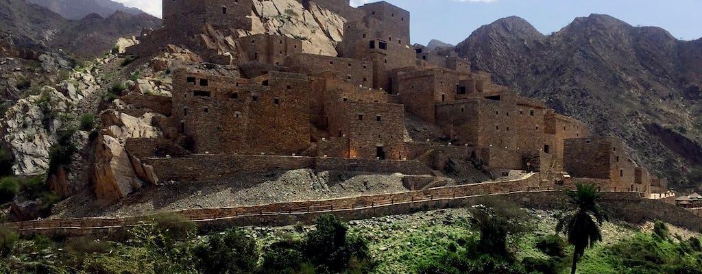 Al Baha Ganztagestour mit Dhee Ayn Marble Village