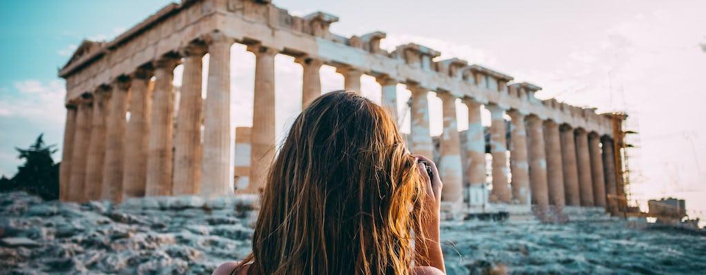 Recorrido privado a pie por lo mejor de la Atenas histórica