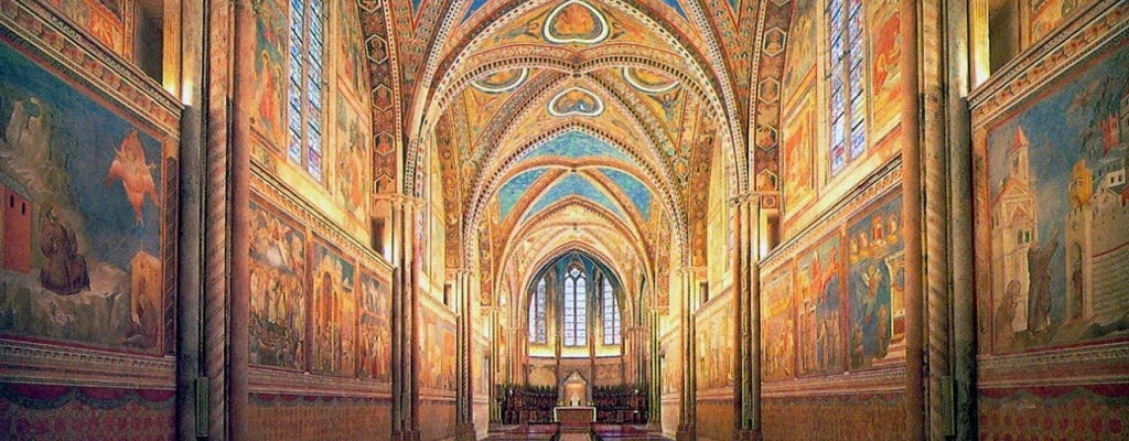 Tour privato delle tre principali basiliche di Assisi
