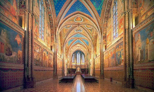 Private tour of three major basilicas in Assisi