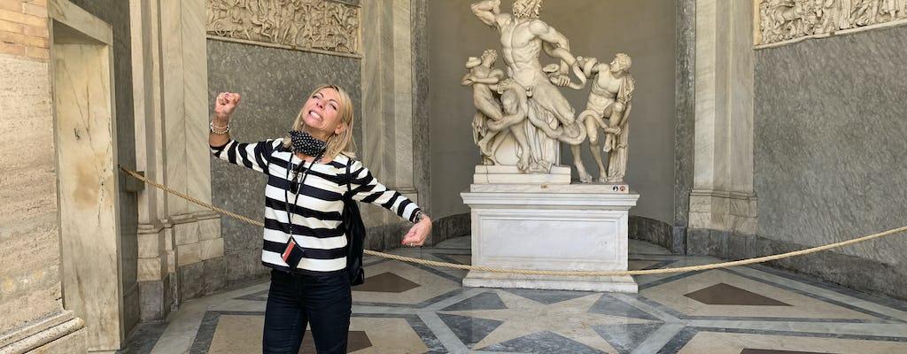 Museus do Vaticano e Basílica de São Pedro em um pequeno grupo