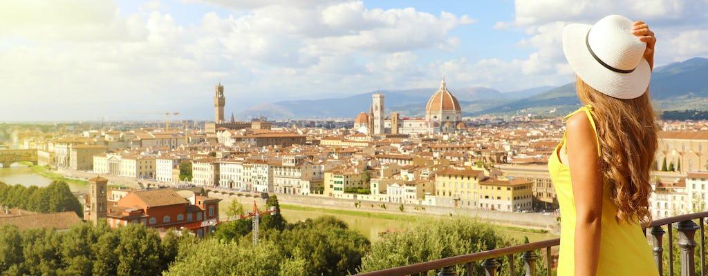 Passe pela cidade de Florença por 5 dias