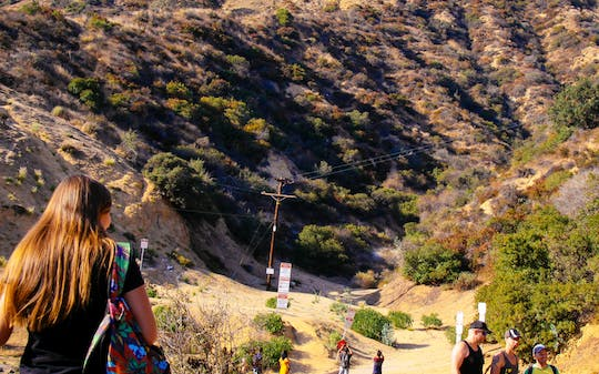 Private Hollywood Sign adventure hike tour