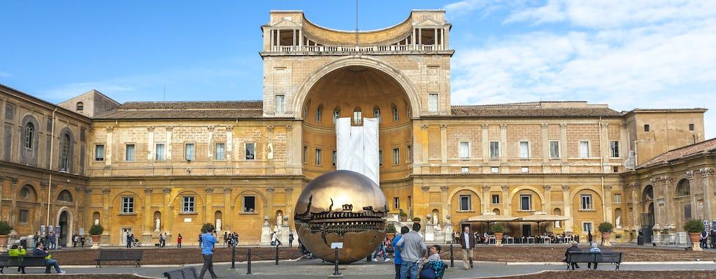 Passeio rápido pelos Museus do Vaticano e Capela Sistina
