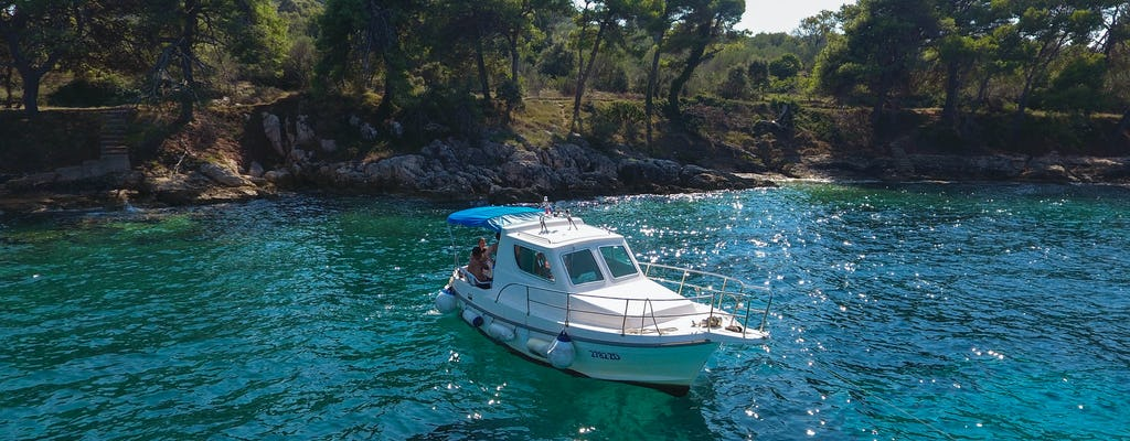 Croatian islands private boat experience from Zadar