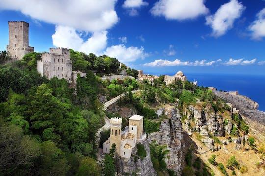 Tour privado de Segesta, Erice e Selinunte saindo de Palermo