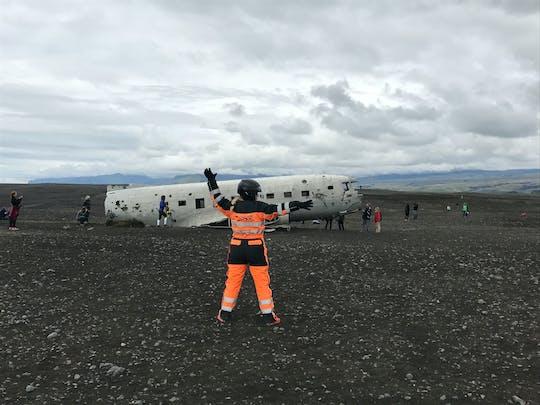 DC-3 plane wreck and black sand beach ATV adventure