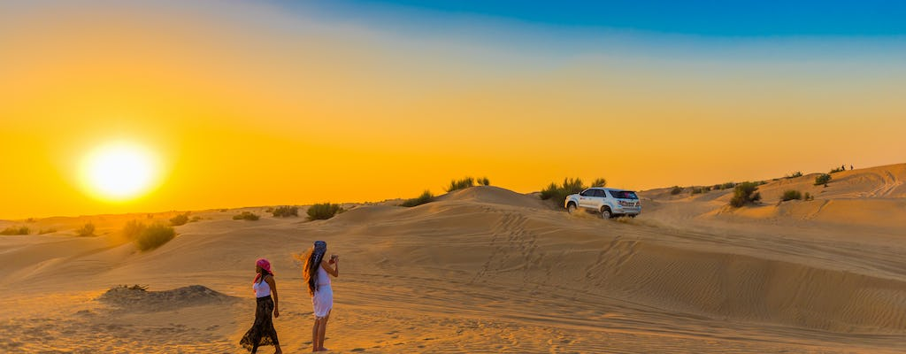 Bedouin camp, desert safari, and Love Lake tour with breakfast
