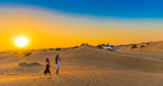 Bedouin camp, desert safari, and Love Lake tour with breakfast