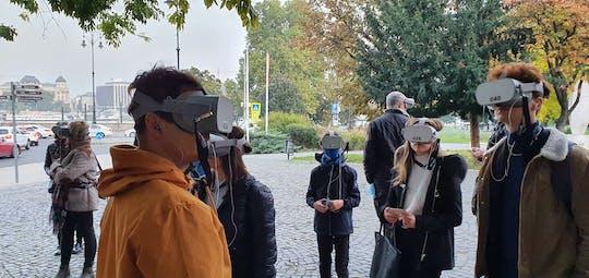 Tour a piedi della realtà virtuale di Budapest