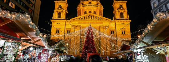 Private Budapest Christmas Market tour and Danube Evening cruise