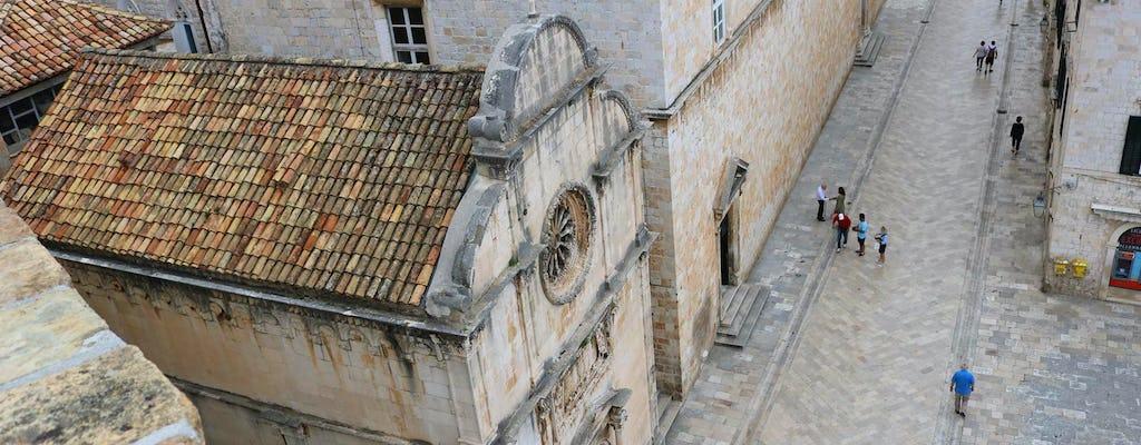 Tour privado de Juego de tronos y murallas de Dubrovnik