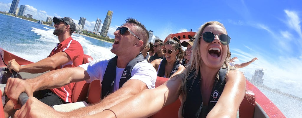 Scenic helicopter tour  and ultimate jetboat ride