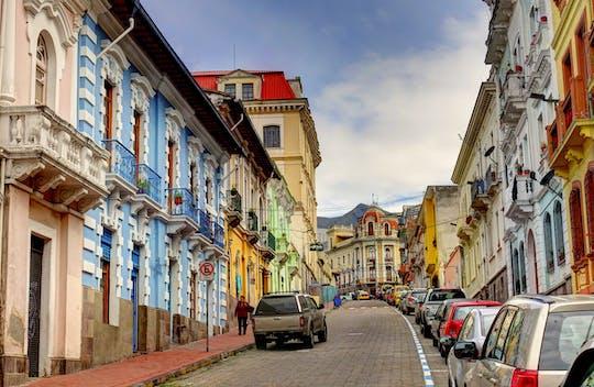 Passeio de bonde em Quito