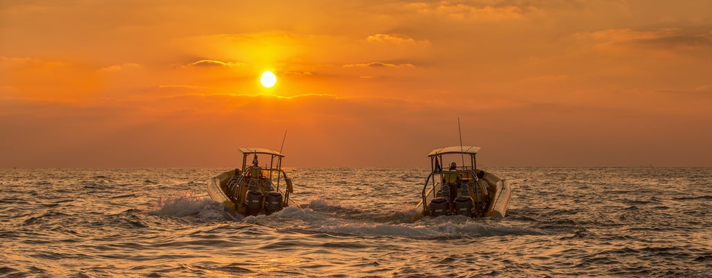 Crociera serale di 60 minuti a Dubai Marina Ain Dubai, Bluewater's e JBR