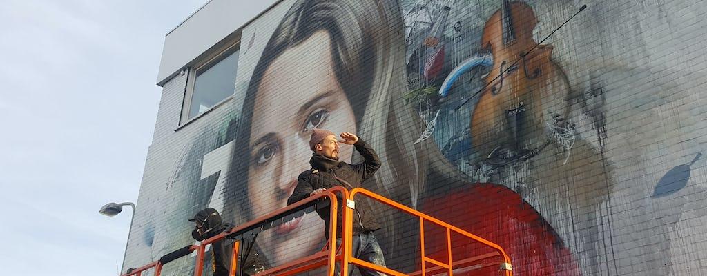 Entrez dans le tour de vélo de street art de La Haye de 2 heures