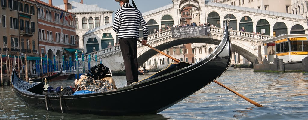 Private Gondola with Prosecco and appetizers
