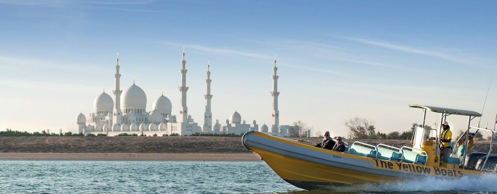 60-minute  Abu Dhabi boat tour of the Corniche, Emirates Palace and Lulu Island
