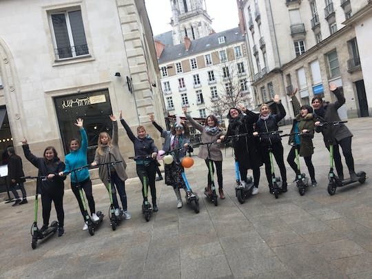 Electric scooter guided tour of Nantes