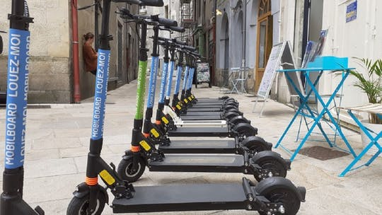 E-scooter rental in Nantes for 1 day, 7 days, or 1 month