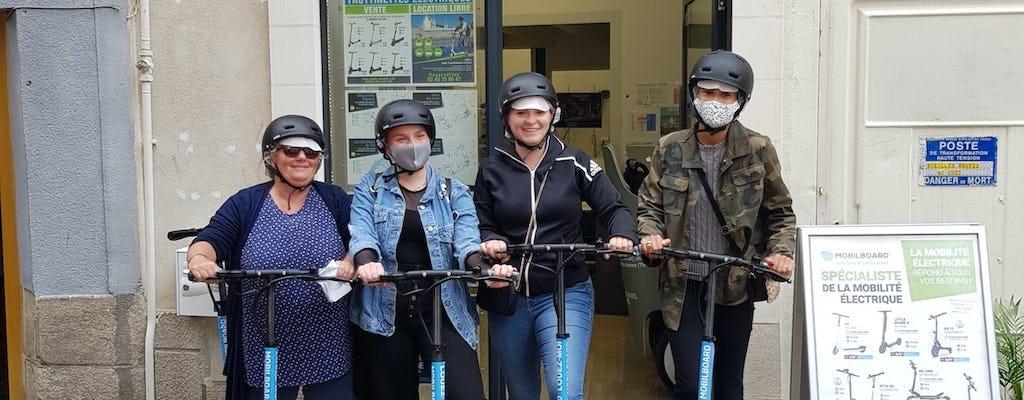 Alquiler de scooter eléctrico en Nantes durante 1 hora, 2 horas, 3 horas o 4 horas