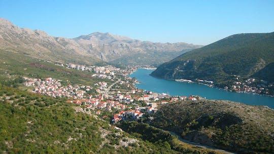 Panoramische rit bij zonsondergang vanuit Dubrovnik
