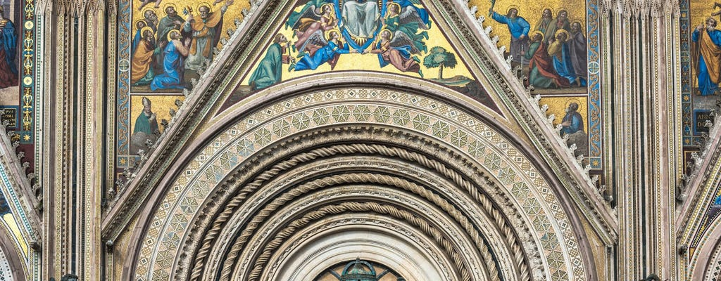 Katedra w Orvieto i zwiedzanie podziemnych jaskiń