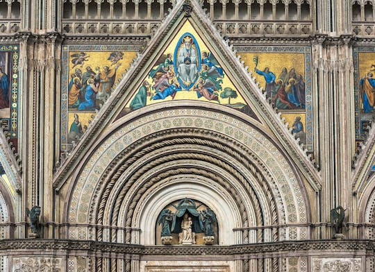 Orvieto Cathedral and underground caves tour