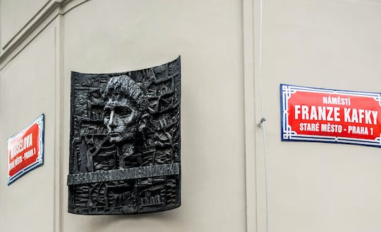 Prague 2.5-hour tour through the eyes of Franz Kafka