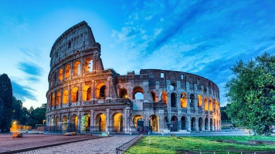 Passeio a pé pela Roma Antiga ao entardecer