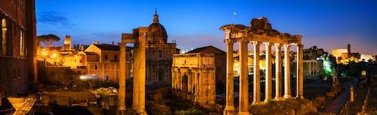 Passeio privado a pé pela Roma Antiga ao entardecer