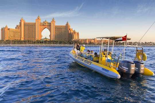 75-minute Dubai boat tour of Atlantis, Dubai Marina, Palm Jumeirah