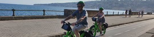 Naples historical and panoramic tour by e-bike