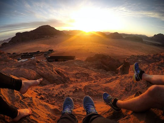 Private Wadi Rum sunset jeep tour from Petra