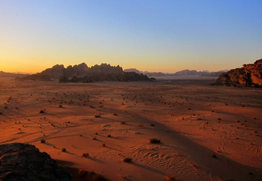 Private Wadi Rum sunset jeep tour from Aqaba