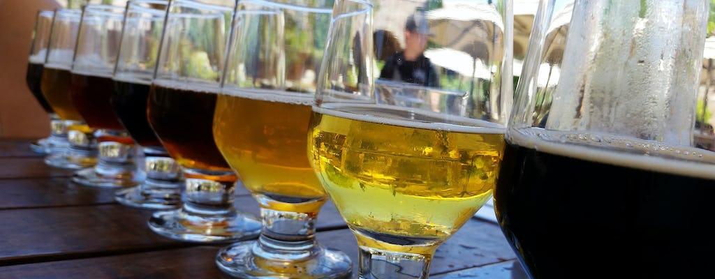 Degustazione di birra artigianale a Città del Capo e barbecue sulla spiaggia al tramonto