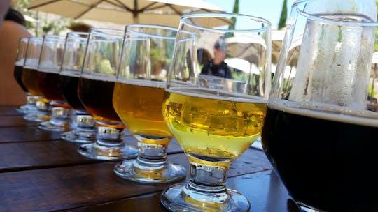 Degustação de cerveja artesanal na Cidade do Cabo e churrasco ao pôr do sol na praia