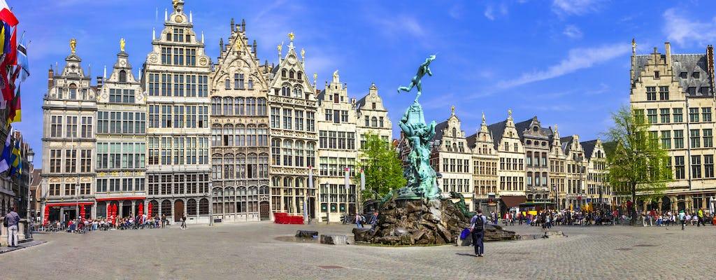 Półdniowa wycieczka do Antwerpii z Brukseli w języku niemieckim