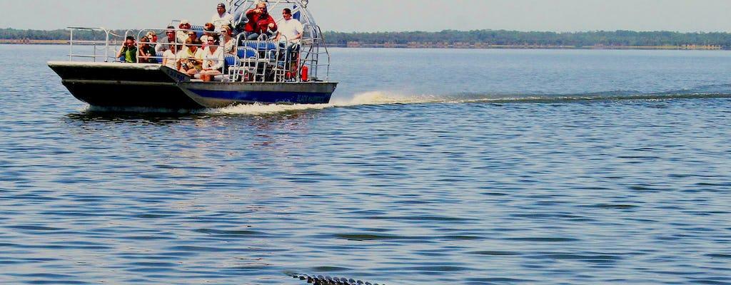 Recorrido de presentación del hidrodeslizador Everglades y gator