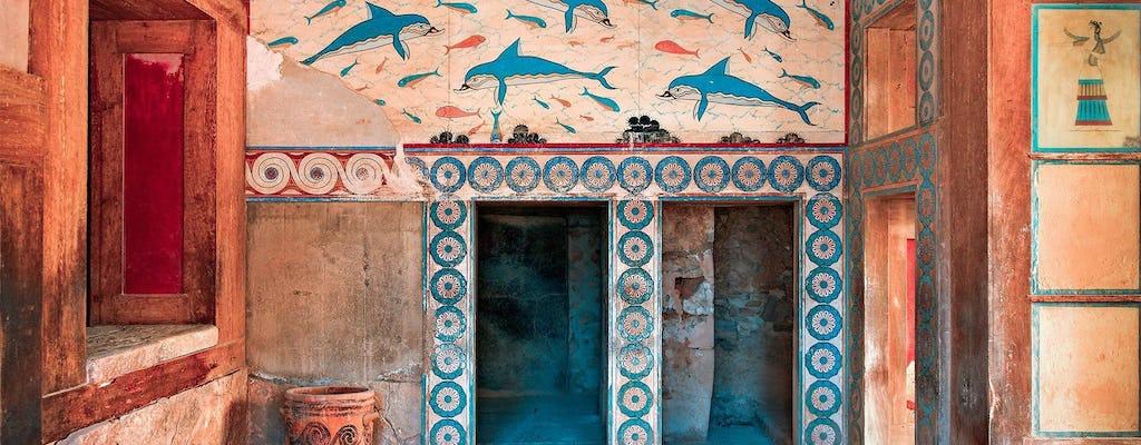 Tour of Knossos Palace and Heraklion museum from Heraklion
