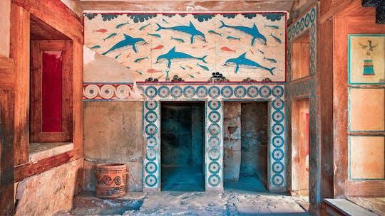 Tour del Palazzo di Cnosso e del museo di Heraklion da Heraklion