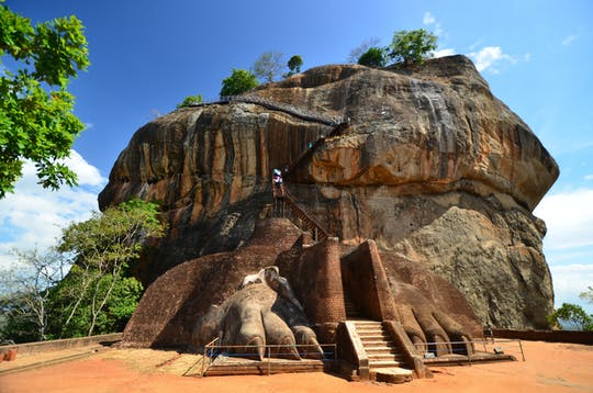 Sigiriya Dambulla tour de 1 día desde la costa este