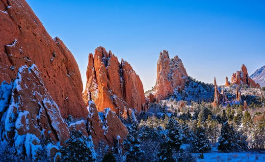 Tour Privado de Pikes Peak, Garden of the Gods e Maitou Springs